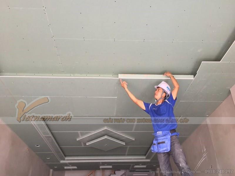 thạch cao khi áp dụng quá trình sản xuất đúng chuẩn xây dựng