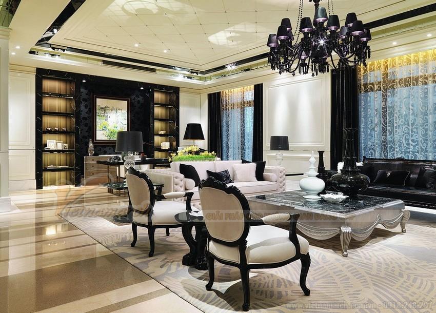 Trần thạch cao phong cách kiến trúc Pháp