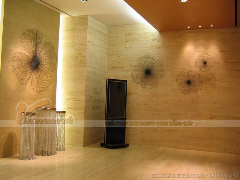 mẫu thiết kế trần thạch cao phong cách Hàn Quốc