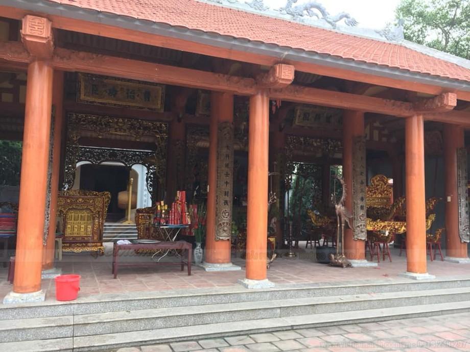 HÌnh ảnh nhà thờ họ đẹp uy nghi là chốn đi về cho những người con họ Lại trên toàn đất nước Việt nam