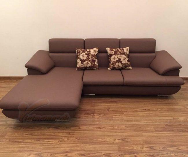 Bất ngờ với vẻ đẹp không ngờ của những mẫu sofa góc phải