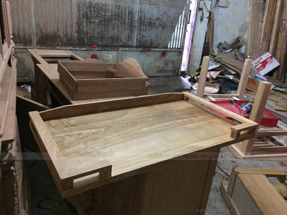 Lắp ráp hoàn thiện bàn thờ
