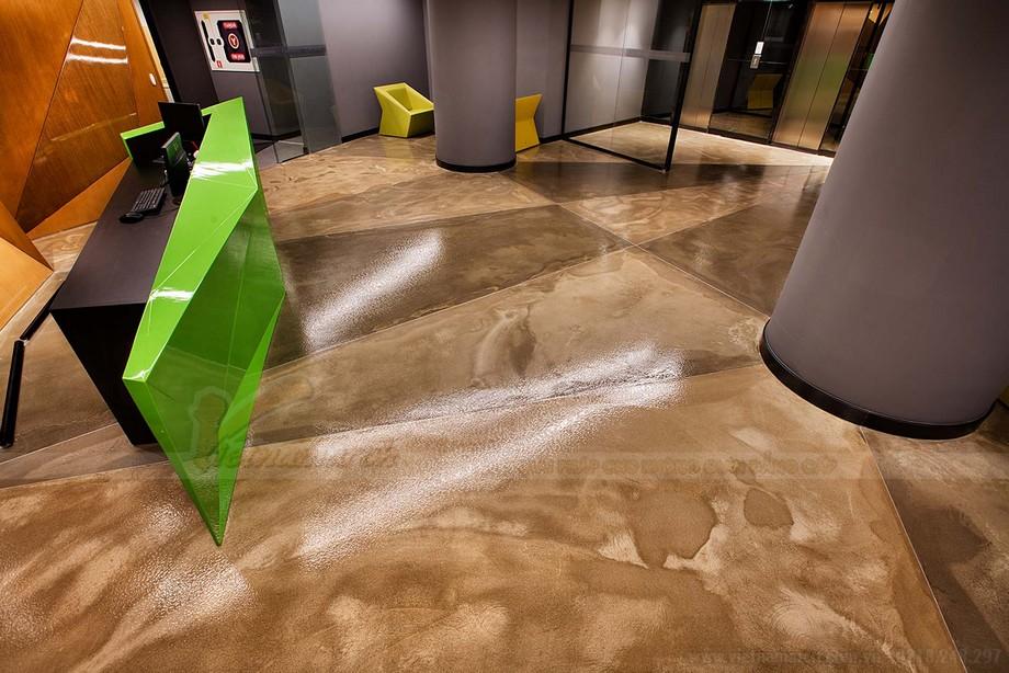 Thiết kế khối tam giác trong không gian coworking space