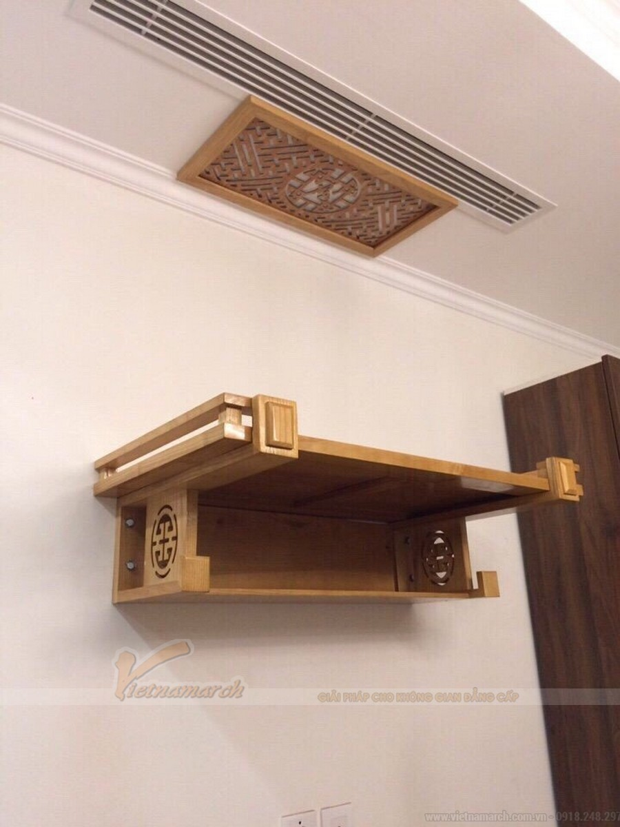 Tổng hợp những mẫu kệ để bàn thờ phù hợp với mọi không gian nội thất