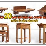 Bàn thờ Vietnamarch -Điểm sáng trong thị trường xuất khẩu đồ gỗ cao cấp tại Việt Nam
