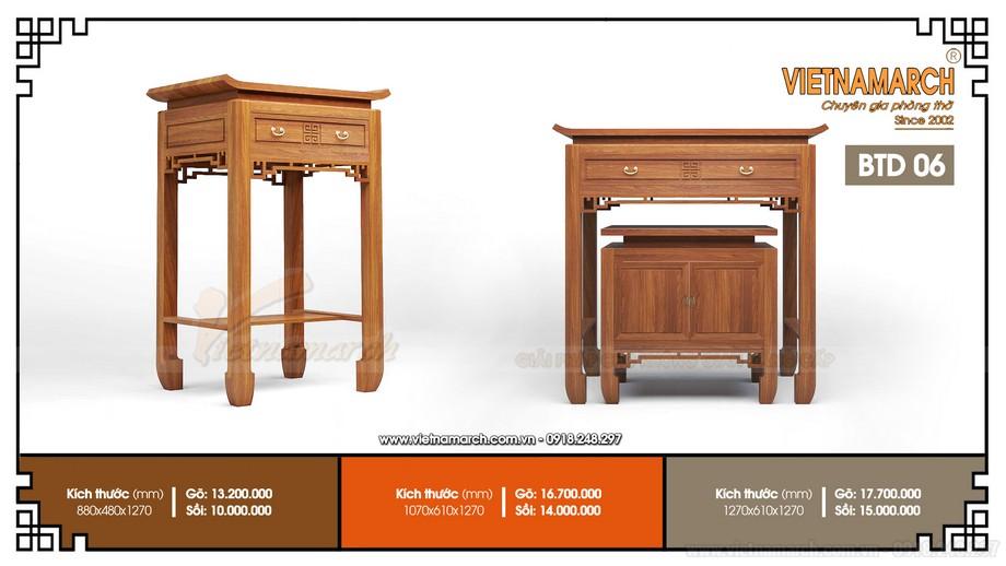 Sơn và hoàn thiện sản phẩm bàn thờ xuất khẩu cao cấp