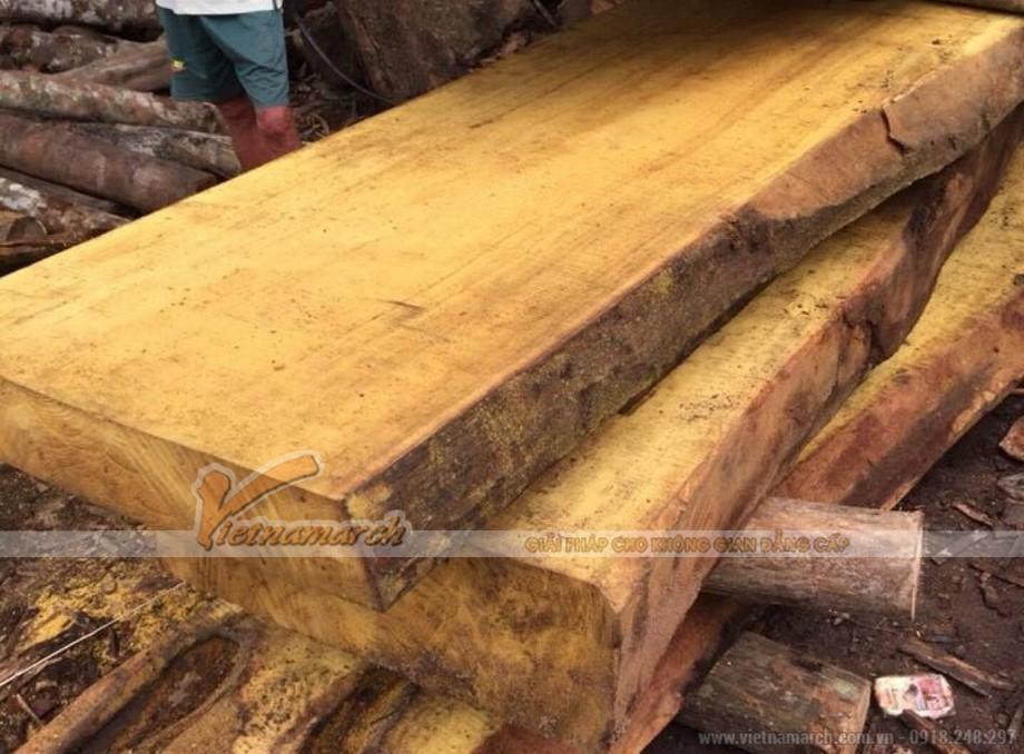 Mẫu gỗ mít tự nhiên