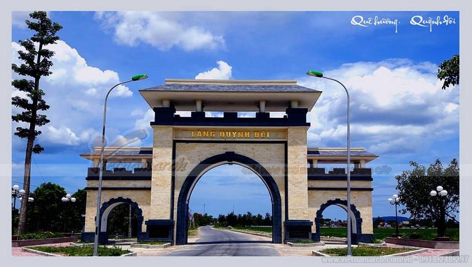 Cổng làng Quỳnh Đôi, Quỳnh Lưu, Nghệ An