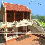 Những mẫu thiết kế nhà thờ họ Hồ ở Quỳnh Đôi