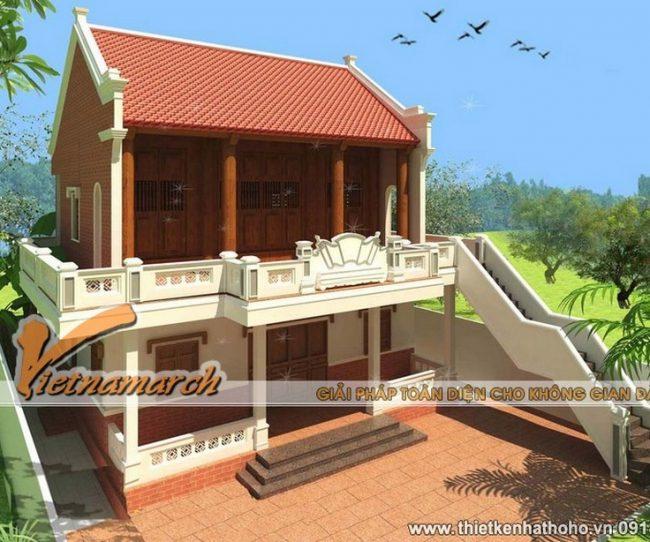Nhà thờ họ Hồ ở Quỳnh Đôi