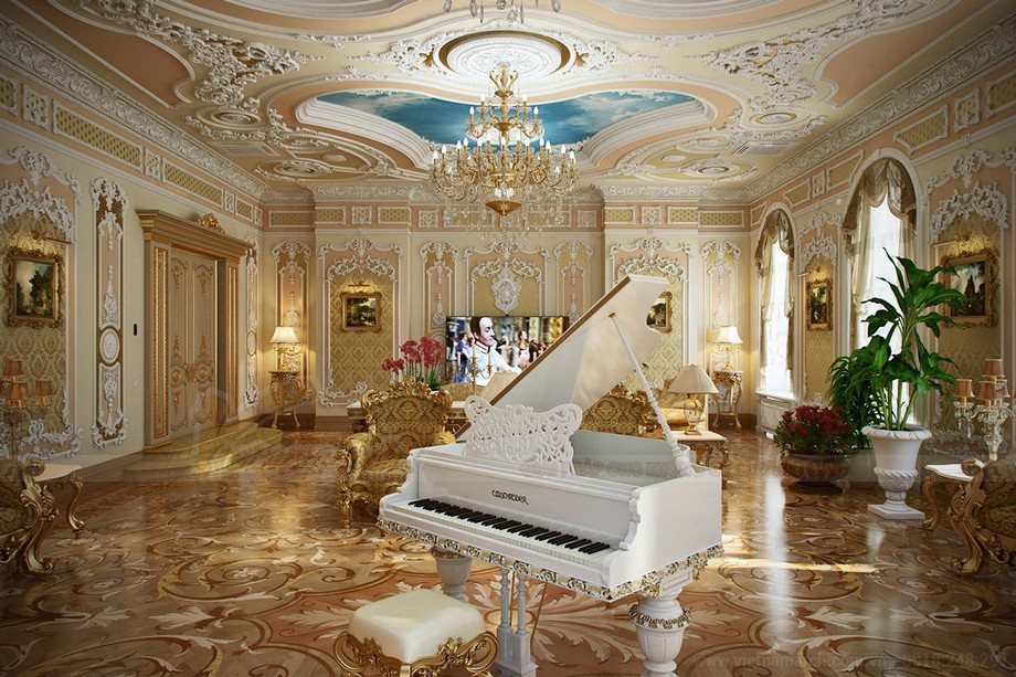 Thiết kế biệt thự Riverside Hải Phòng với ảnh hưởng mạnh mẽ đến từ thời vua Louis XV- sự trỗi dậy của Rococo