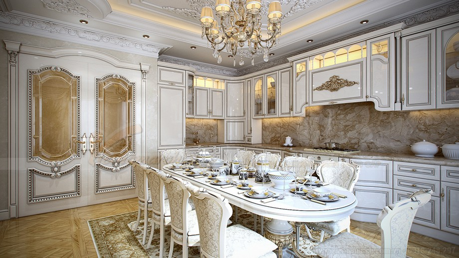 Chiêm ngưỡng thêm những hình ảnh đẹp của phòng ăn