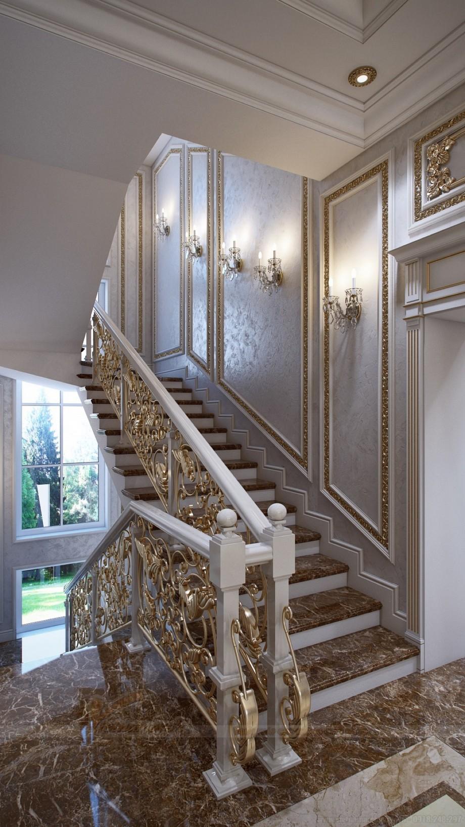 Thiết kế cấu thang đặc biệt tinh tế