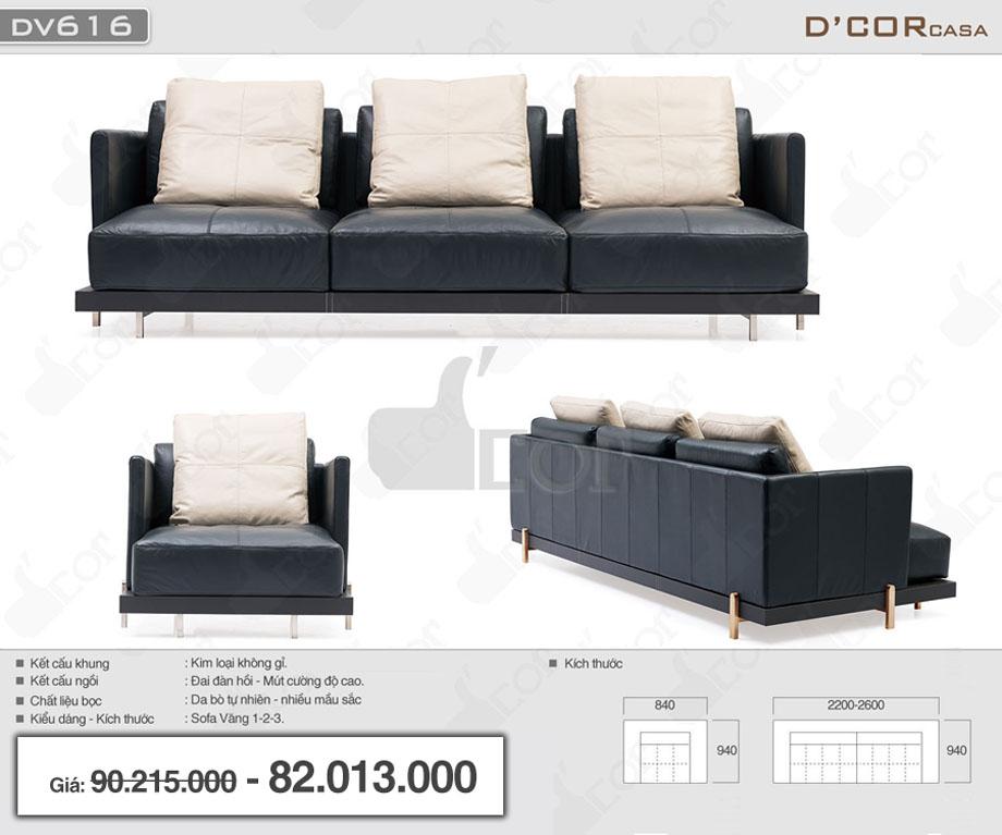 sofa văng 3 chỗ khung kim loại