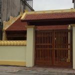 Thi công nhà thờ họ- từ đường bằng gỗ đẹp chuẩn phong thủy tại Thái Bình