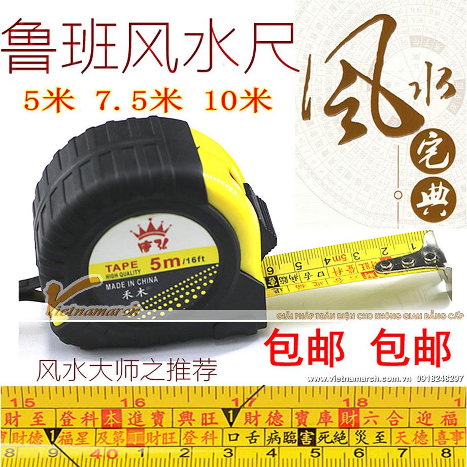 Thước lỗ ban được bán phổ biến tại các diễn đàn phong thủy Trung Quốc