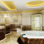 Những mẫu trần thạch cao toilet đẹp ngất ngây