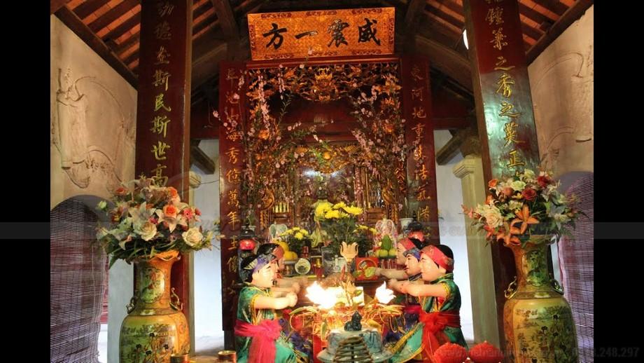 Cách bày lễ thắp hương trên bàn thờ