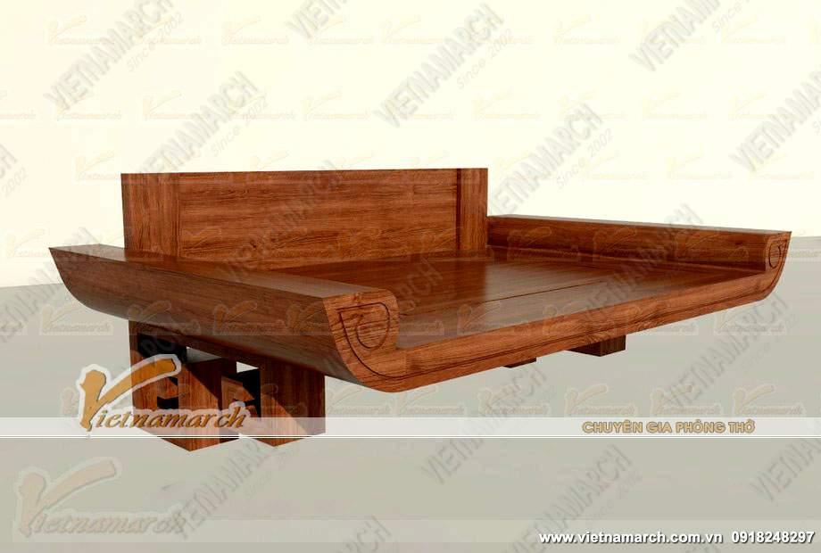 Chất liệu gỗ làm bàn thờ