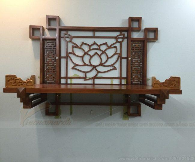 Đừng bỏ lỡ những mẫu bàn thờ đơn giản mà đẹp cho gia đình