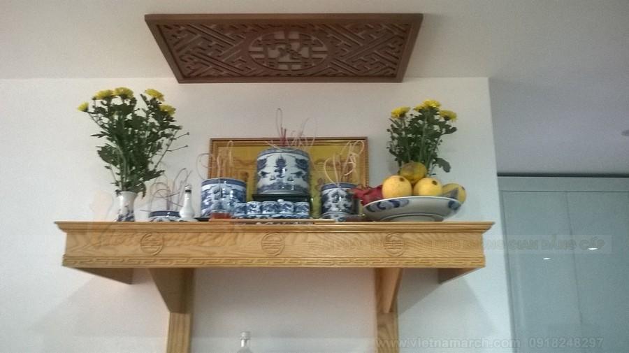 Những kiểu bàn thờ giá rẻ mà đẹp