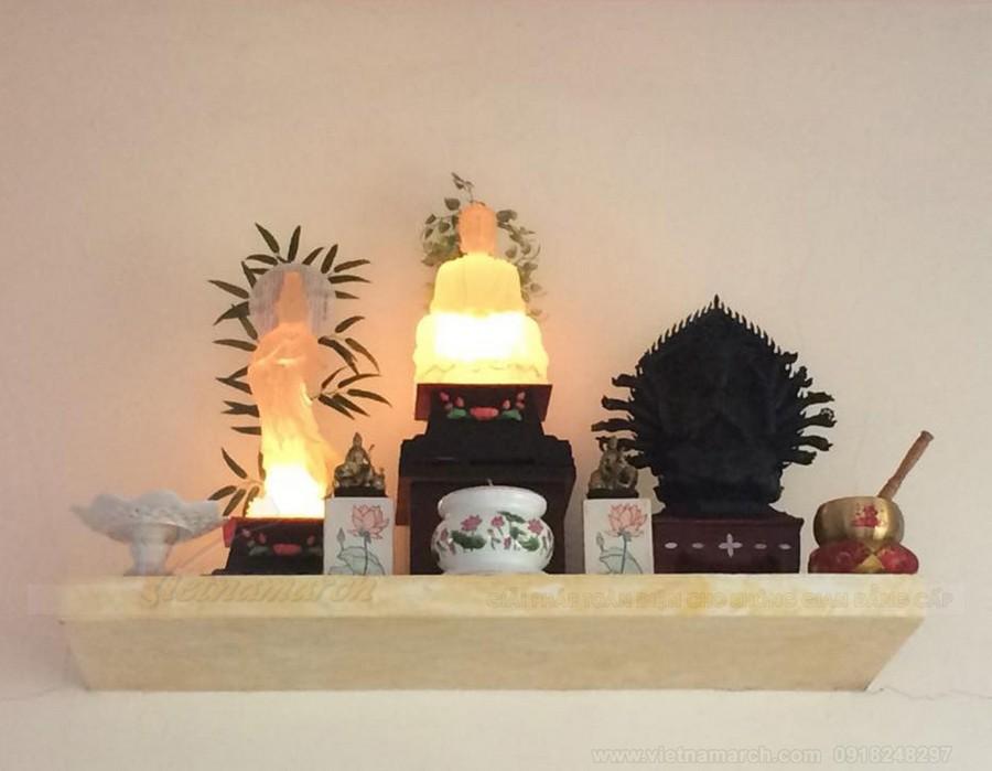 Những mẫu bàn thờ treo tường đẹp