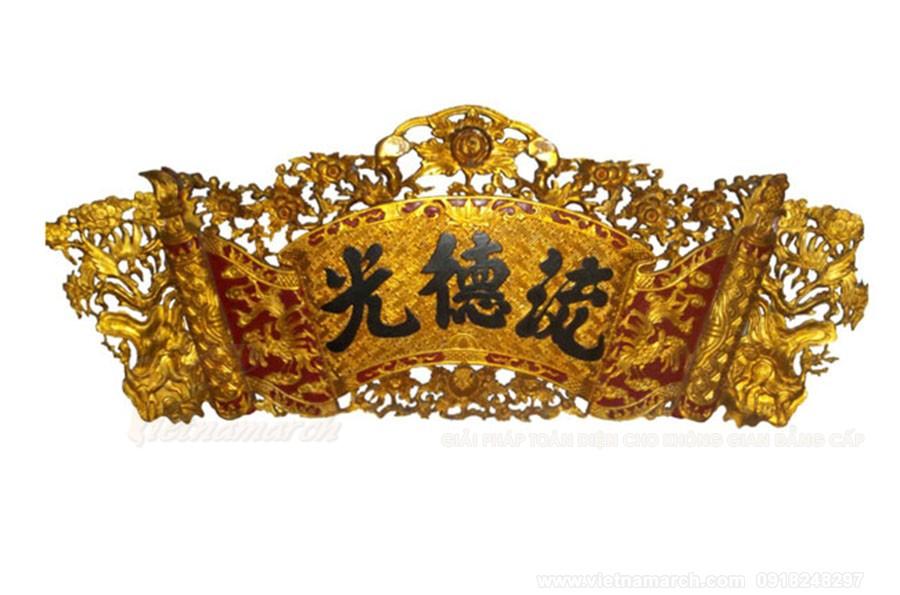 Cuốn thư sơn son thiếp vàng