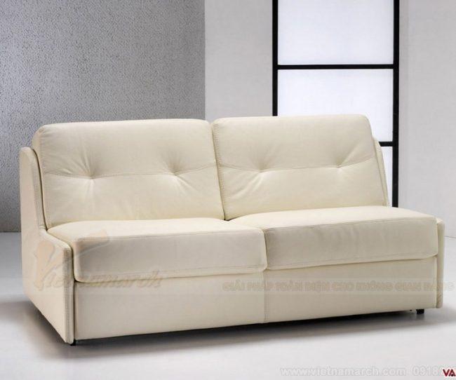 Phá vỡ không gian sống bởi những mẫu sofa văng không tay vịn