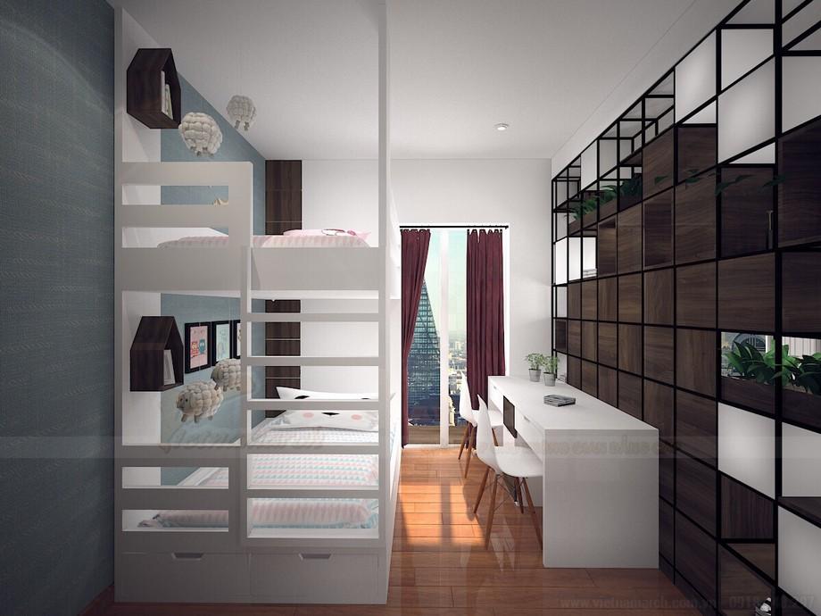 Thiết kế nội thất chung cư tiện nghi