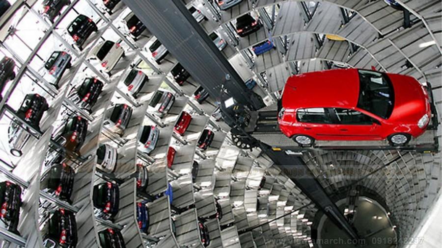 Cách lắp đặt hệ thống bãi đỗ xe thông minh
