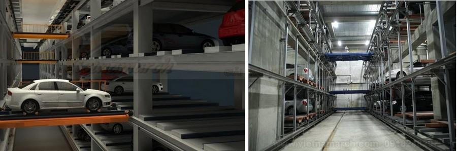Hướng dẫn sử dụng bãi đỗ xe thông minh