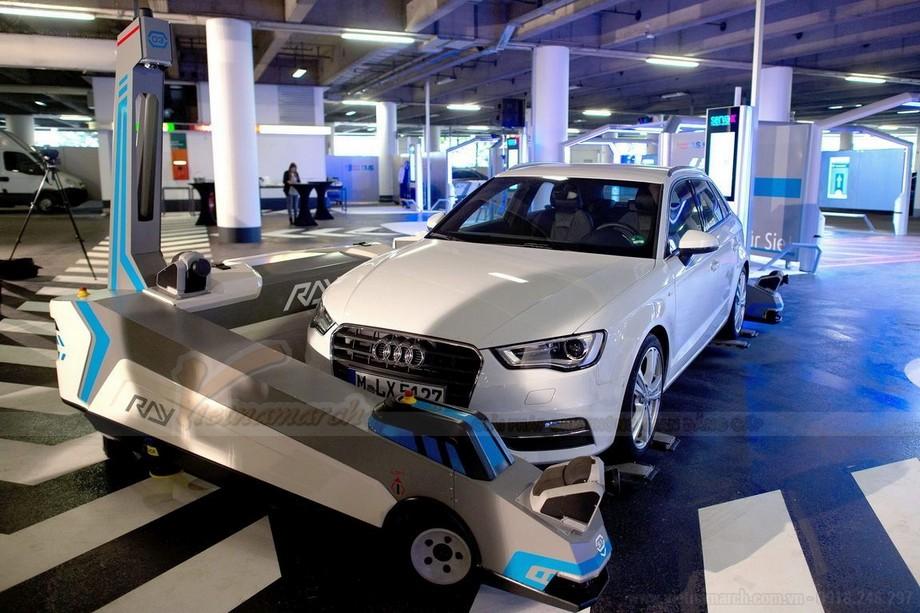 Nhược điểm hệ thống bãi đỗ xe tự động có robot Ray