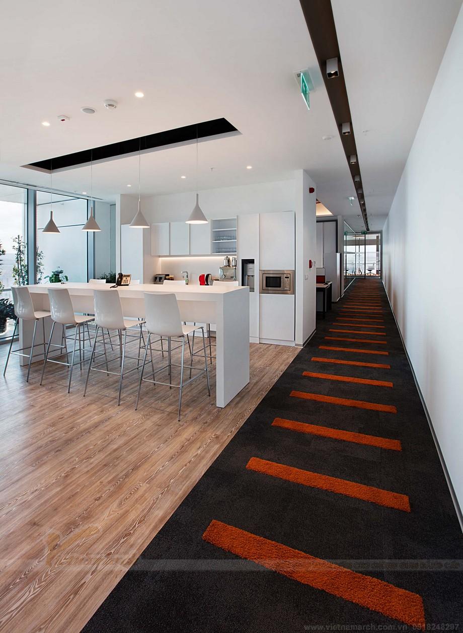Thiết kế nội thất văn phòng khu vực coworking space thư giãn