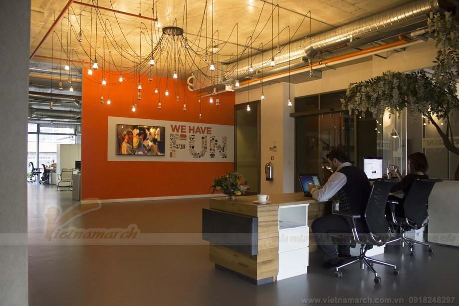 Thiết kế ánh sáng và màu sắc chan hòa tự nhiên trong dự án coworking space