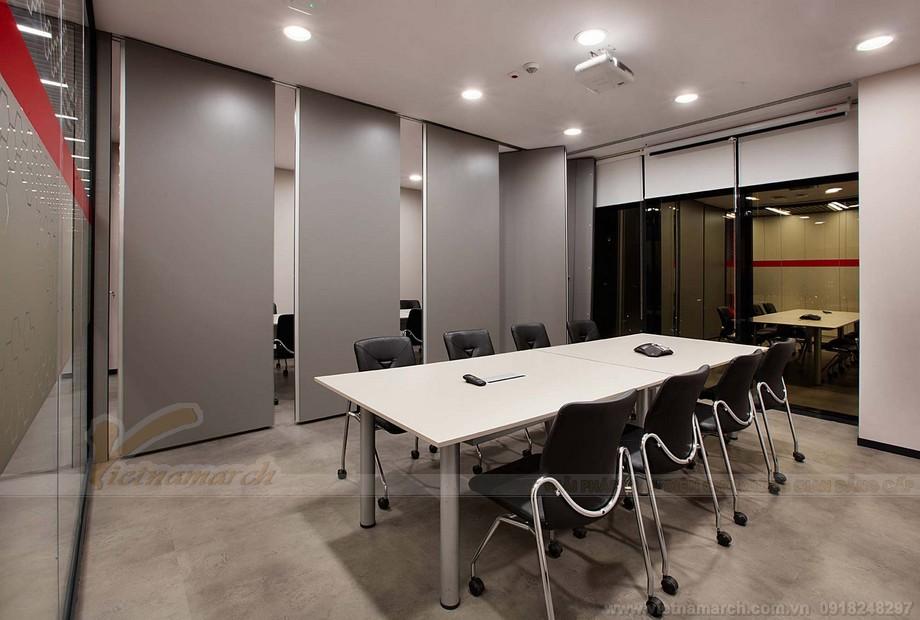 Thiết kế phòng họp của không gian làm việc chung coworking space
