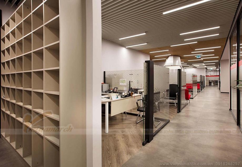 Điểm độc đáo trong thiết kế coworking space mang lại dấu ấn vượt thời gian cho dự án văn phòng cho thuê