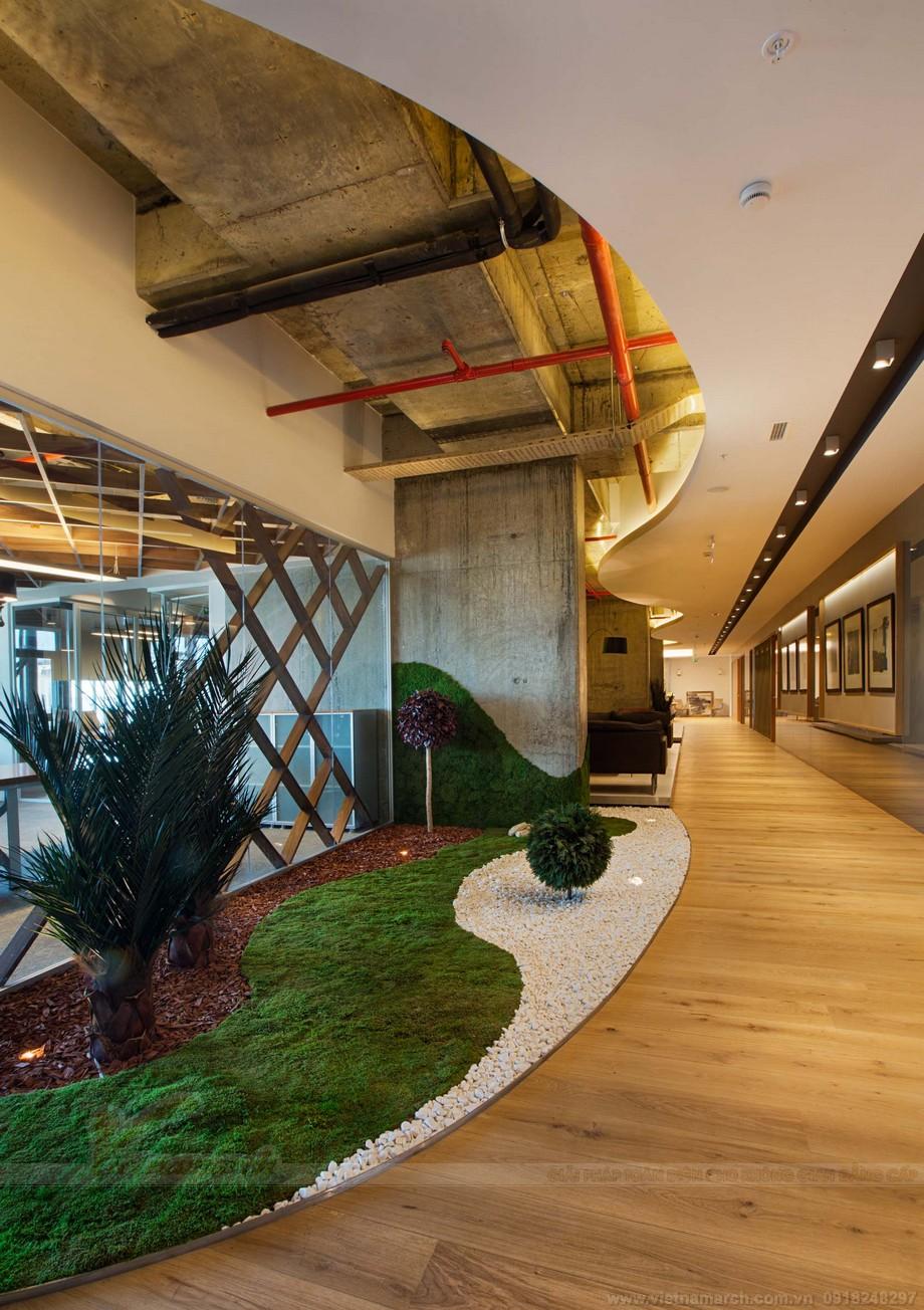 Thiết kế sảnh chờ trong không gian làm việc chung coworking space