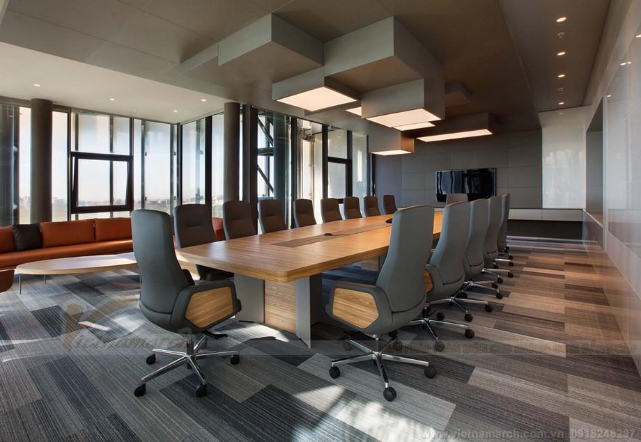 Thiết kế phòng họp coworking ấn tượng