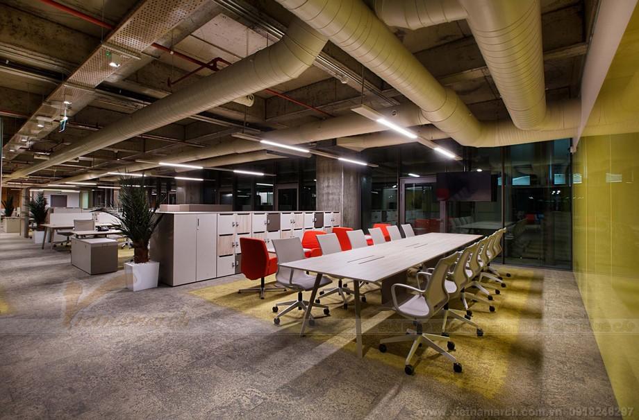 Thiết kế phòng làm việccoworking space đa dạng và hiện đại