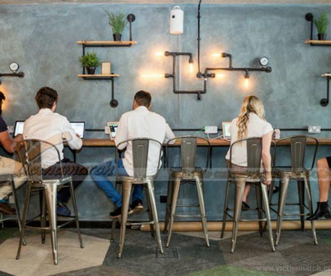Thiết kế quán cafe văn phòng - xu hướng thời đại