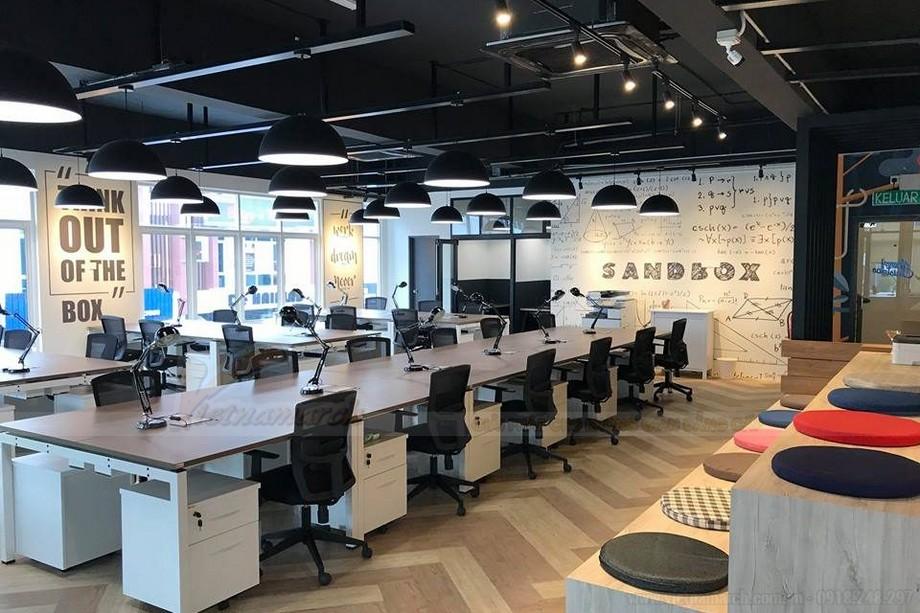 Đối tượng phù hợp với không gian làm việc chung Coworking space