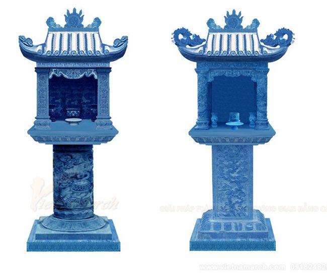 Lựa chọn mẫu bàn thờ ngoài trời nào thích hợp nhất