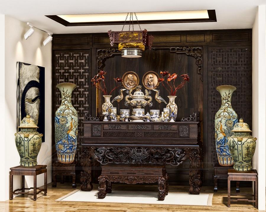 10 ưu điểm lớn nhất của bàn thờ gỗ đỏ