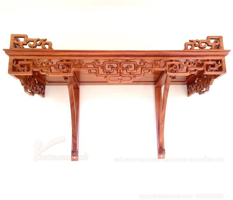 Ưu điểm lớn nhất của bàn thờ gỗ đỏ