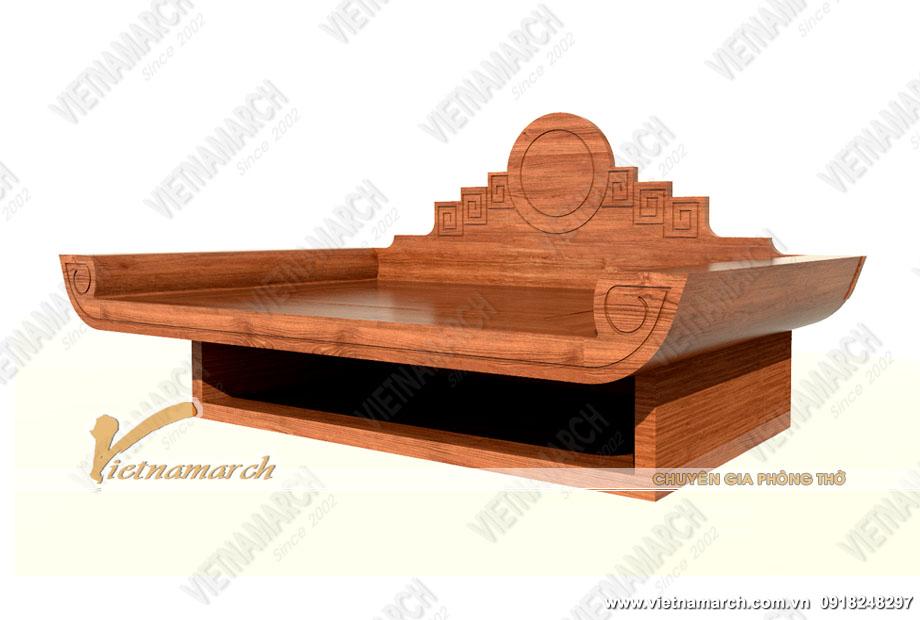 Những mẫu bàn thờ treo tường phù hợp với nhà nhỏ