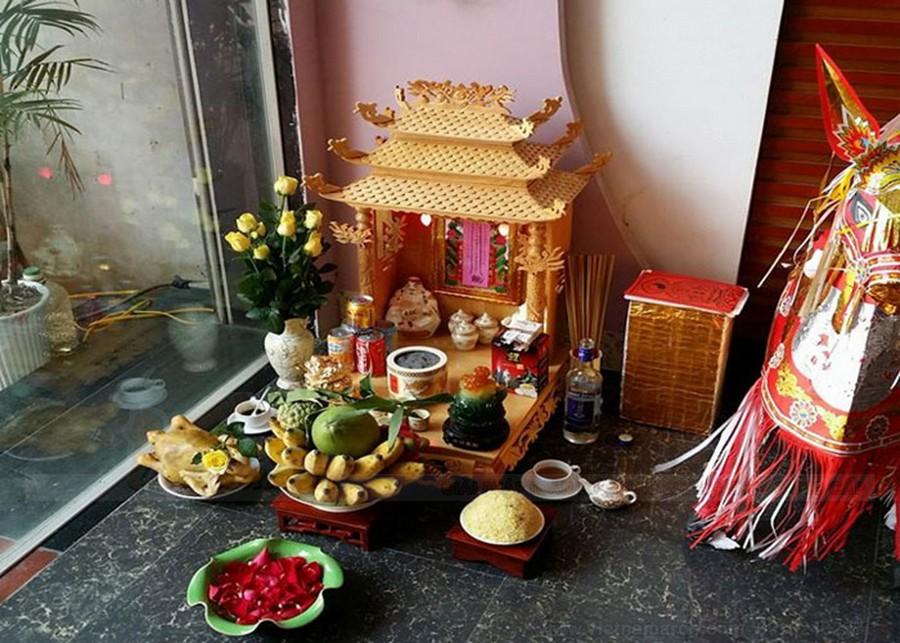 Tham khảo thêm về cách sắp xếp bàn thờ ông địa, thần tài
