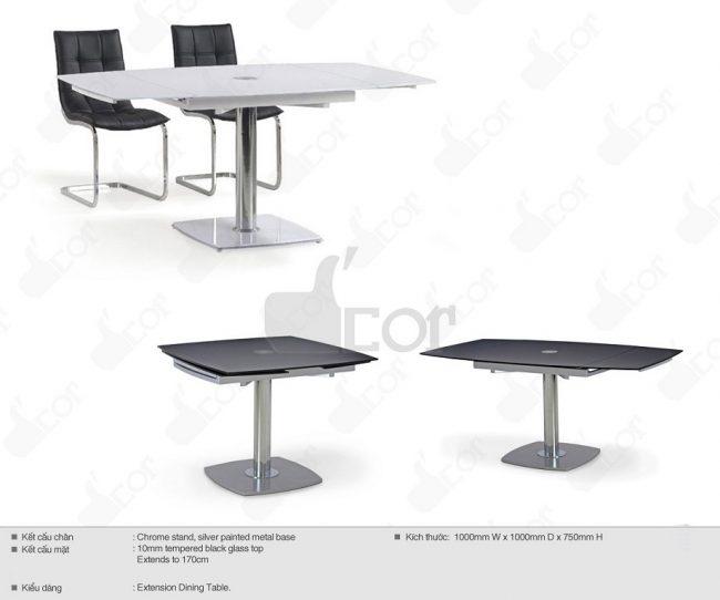 Cách lựa chọn bàn ghế ăn đẹp phù hợp không gian