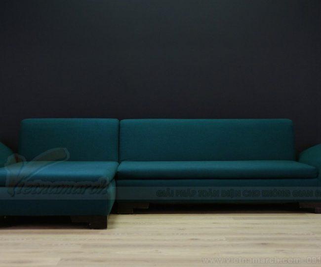 Vẻ đẹp sang trọng từ những mẫu ghế sofa góc nhập khẩu