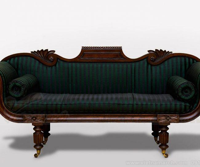 Những mẫu sofa tân cổ điển chữ I đẹp cho biệt thự, chung cư