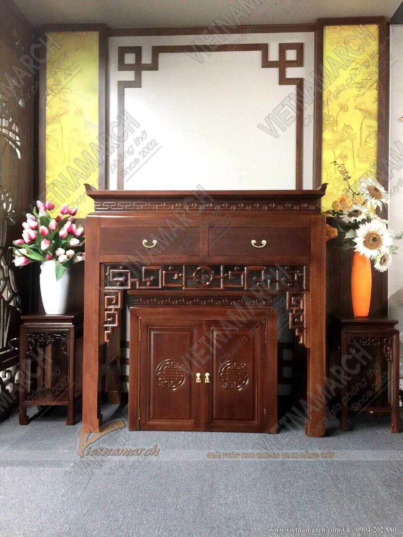 Nội thất phòng thờ